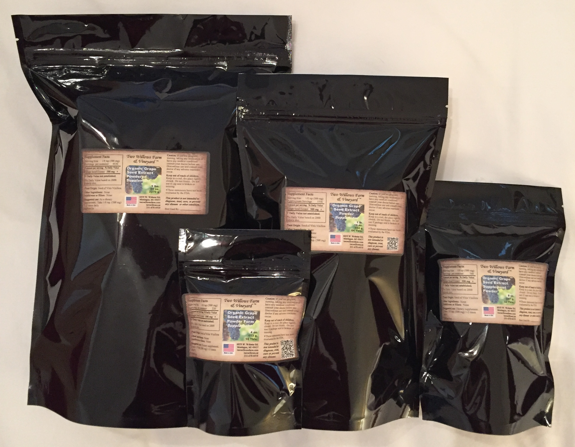 Organic Bulk Supplements